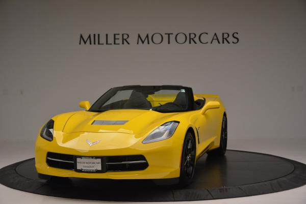 Used 2014 Chevrolet Corvette Stingray Z51 for sale Sold at Bentley Greenwich in Greenwich CT 06830 1