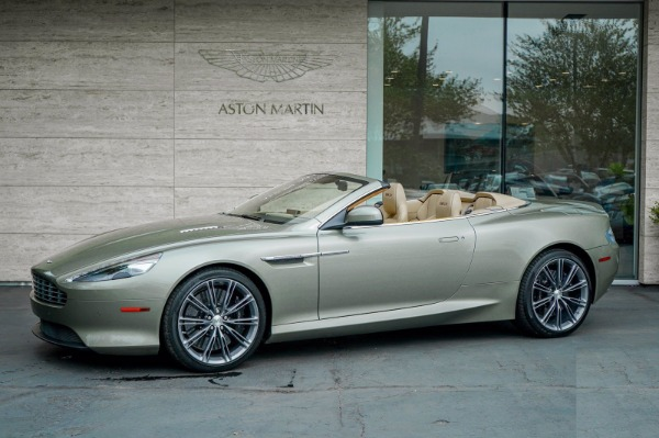 Used 2015 Aston Martin DB9 Volante for sale $119,990 at Bentley Greenwich in Greenwich CT 06830 2