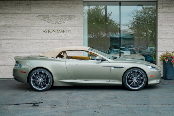 Used 2015 Aston Martin DB9 Volante for sale $119,990 at Bentley Greenwich in Greenwich CT 06830 3