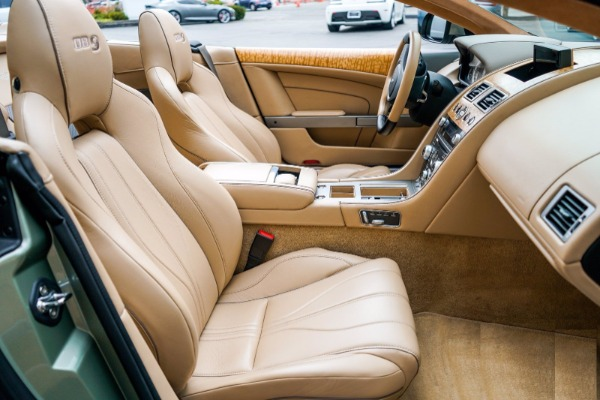 Used 2015 Aston Martin DB9 Volante for sale $119,990 at Bentley Greenwich in Greenwich CT 06830 6