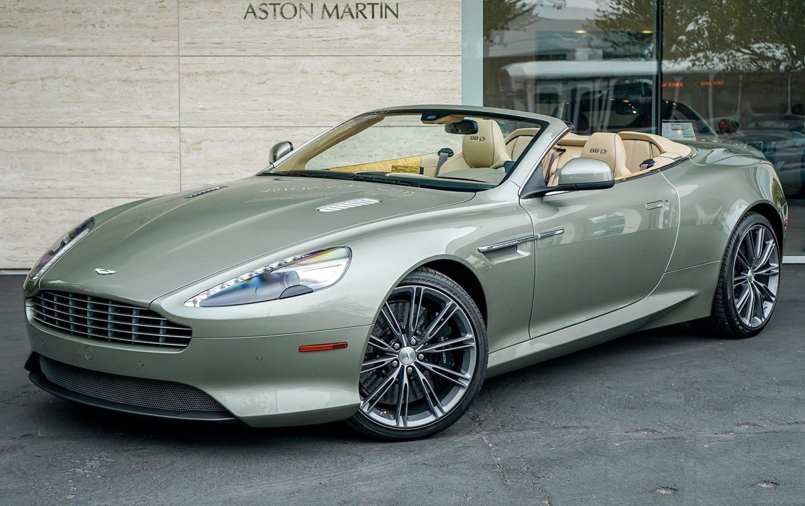 Used 2015 Aston Martin DB9 Volante for sale $119,990 at Bentley Greenwich in Greenwich CT 06830 1