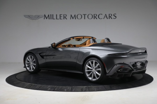 New 2021 Aston Martin Vantage Roadster for sale $174,586 at Bentley Greenwich in Greenwich CT 06830 3