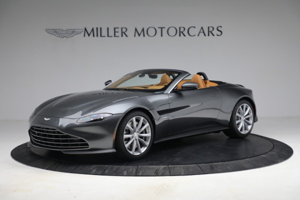 New 2021 Aston Martin Vantage Roadster for sale $174,586 at Bentley Greenwich in Greenwich CT 06830 1