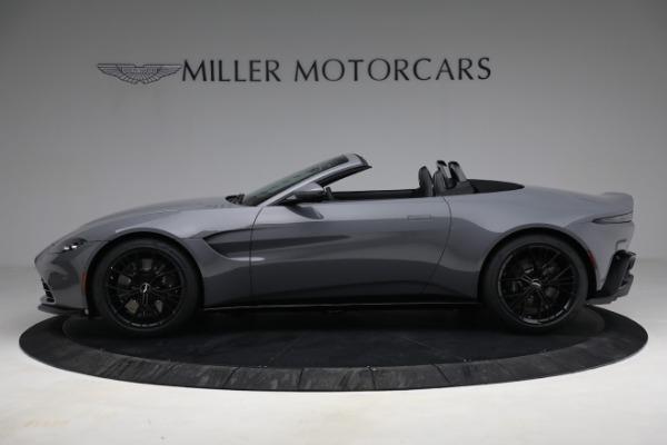 New 2021 Aston Martin Vantage Roadster for sale $180,286 at Bentley Greenwich in Greenwich CT 06830 2