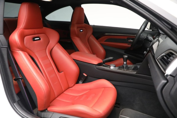 Used 2019 BMW M4 for sale $71,900 at Bentley Greenwich in Greenwich CT 06830 19