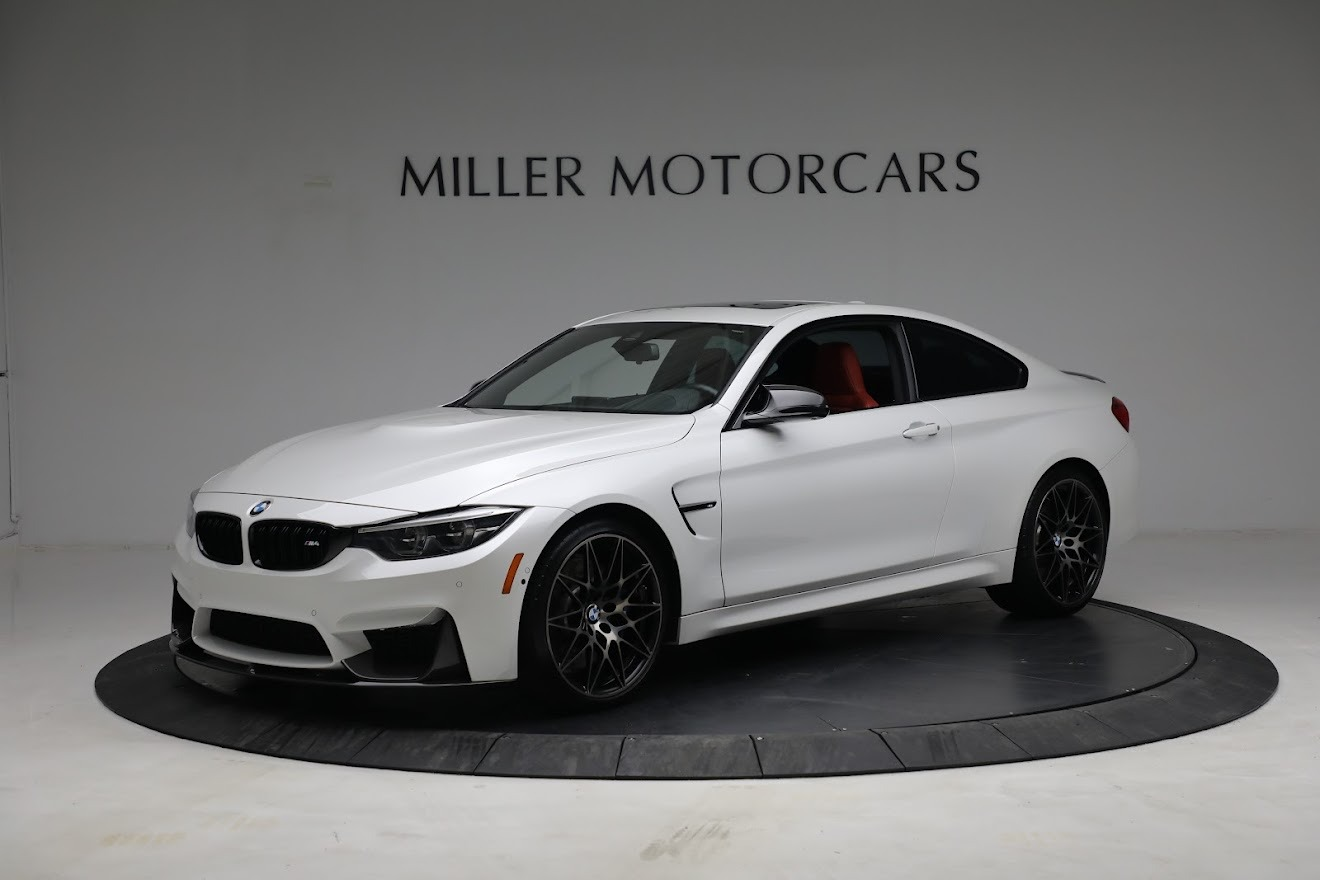 Used 2019 BMW M4 Competition for sale Call for price at Bentley Greenwich in Greenwich CT 06830 1