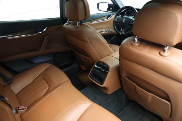 Used 2014 Maserati Quattroporte S Q4 for sale $42,900 at Bentley Greenwich in Greenwich CT 06830 19