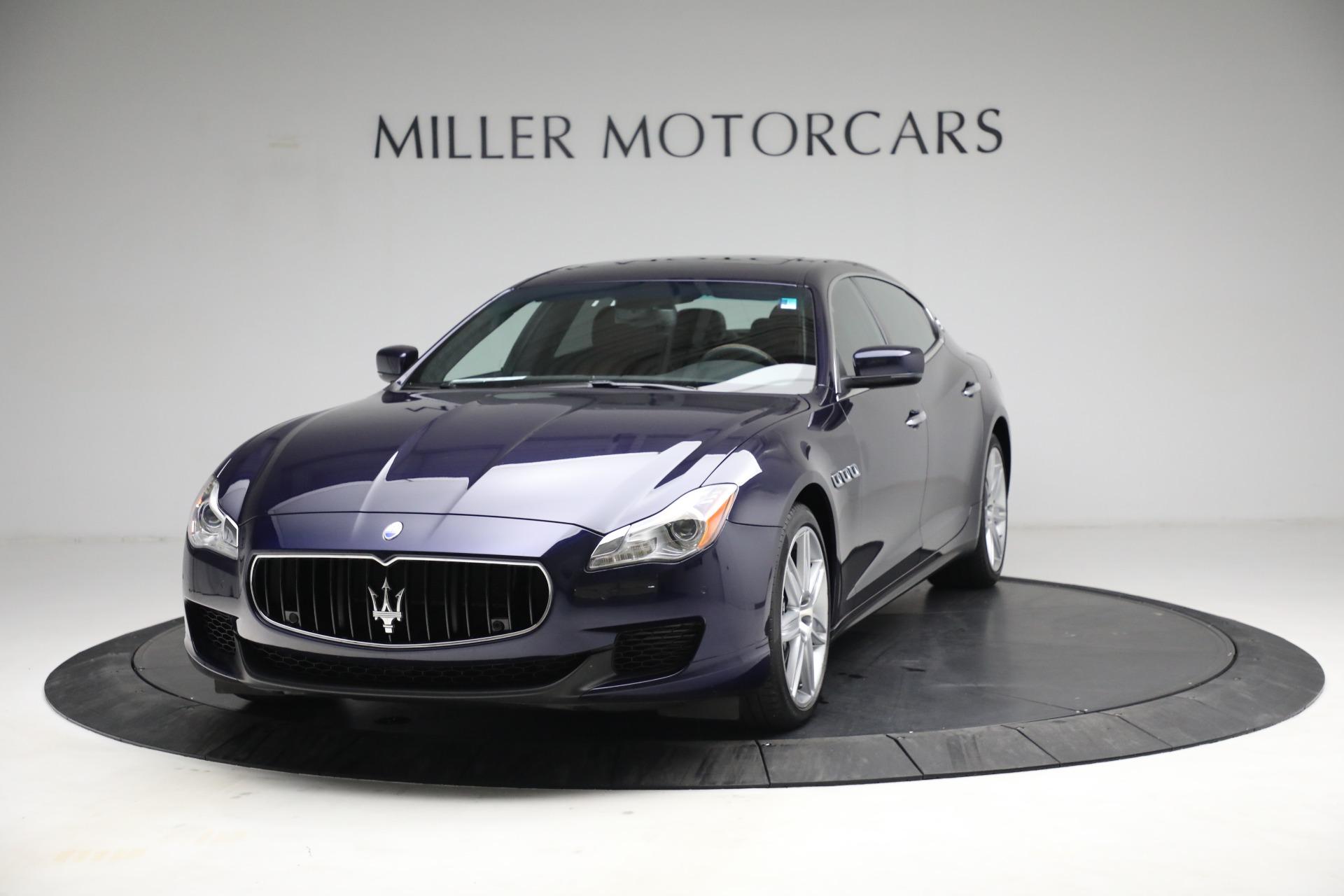 Used 2014 Maserati Quattroporte S Q4 for sale $42,900 at Bentley Greenwich in Greenwich CT 06830 1