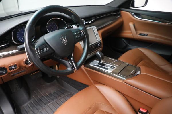 Used 2016 Maserati Quattroporte S Q4 for sale $46,900 at Bentley Greenwich in Greenwich CT 06830 13
