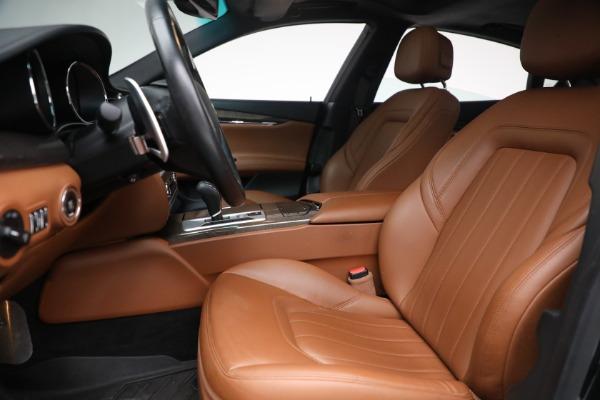 Used 2016 Maserati Quattroporte S Q4 for sale $46,900 at Bentley Greenwich in Greenwich CT 06830 14