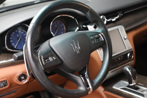 Used 2016 Maserati Quattroporte S Q4 for sale $46,900 at Bentley Greenwich in Greenwich CT 06830 17