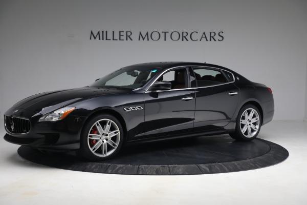 Used 2016 Maserati Quattroporte S Q4 for sale $46,900 at Bentley Greenwich in Greenwich CT 06830 2