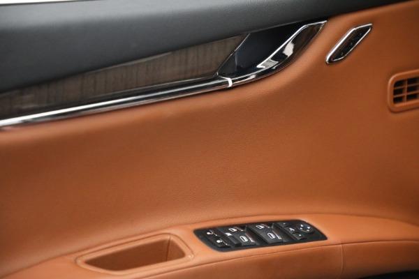 Used 2016 Maserati Quattroporte S Q4 for sale $46,900 at Bentley Greenwich in Greenwich CT 06830 21