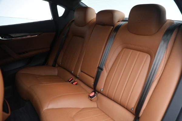Used 2016 Maserati Quattroporte S Q4 for sale $46,900 at Bentley Greenwich in Greenwich CT 06830 24