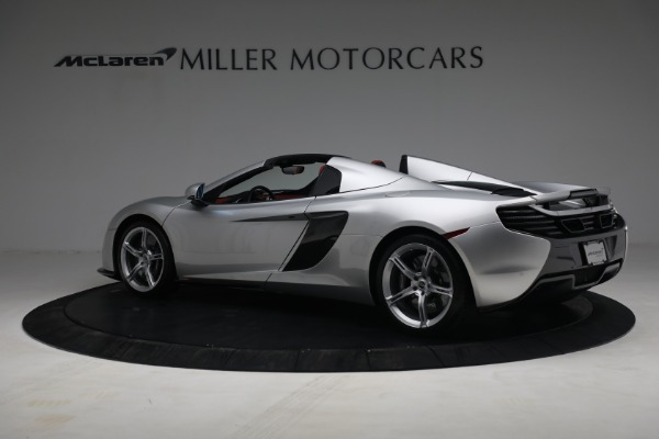 Used 2015 McLaren 650S Spider for sale $179,990 at Bentley Greenwich in Greenwich CT 06830 3