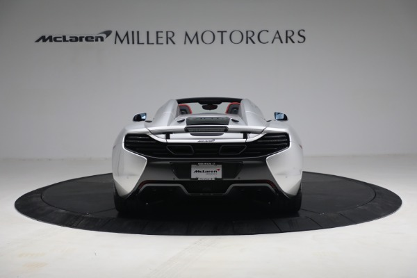 Used 2015 McLaren 650S Spider for sale $179,990 at Bentley Greenwich in Greenwich CT 06830 5