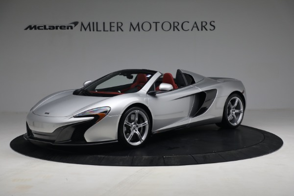 Used 2015 McLaren 650S Spider for sale $179,990 at Bentley Greenwich in Greenwich CT 06830 1