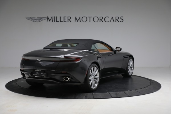 Used 2019 Aston Martin DB11 Volante for sale $212,990 at Bentley Greenwich in Greenwich CT 06830 16