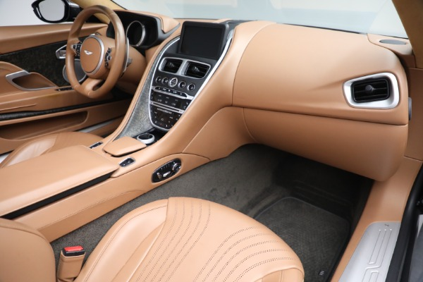 Used 2019 Aston Martin DB11 Volante for sale $212,990 at Bentley Greenwich in Greenwich CT 06830 24