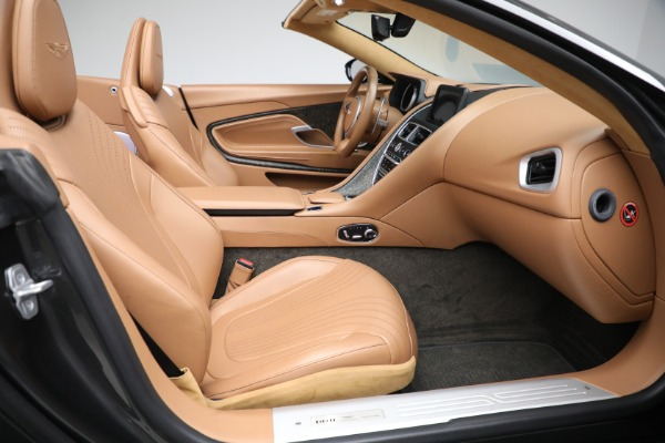 Used 2019 Aston Martin DB11 Volante for sale $212,990 at Bentley Greenwich in Greenwich CT 06830 25