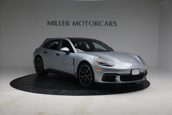 Used 2018 Porsche Panamera 4 Sport Turismo for sale $97,900 at Bentley Greenwich in Greenwich CT 06830 11