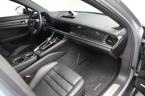 Used 2018 Porsche Panamera 4 Sport Turismo for sale $97,900 at Bentley Greenwich in Greenwich CT 06830 24