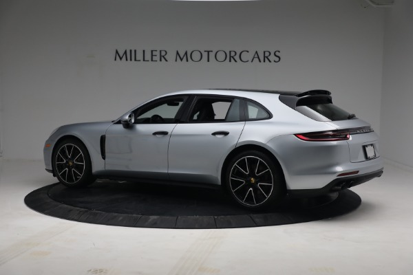 Used 2018 Porsche Panamera 4 Sport Turismo for sale $97,900 at Bentley Greenwich in Greenwich CT 06830 4