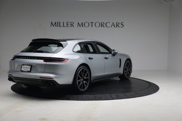Used 2018 Porsche Panamera 4 Sport Turismo for sale $97,900 at Bentley Greenwich in Greenwich CT 06830 7