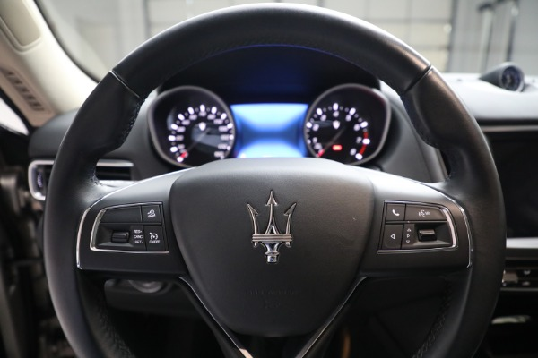 Used 2018 Maserati Levante for sale $57,900 at Bentley Greenwich in Greenwich CT 06830 16