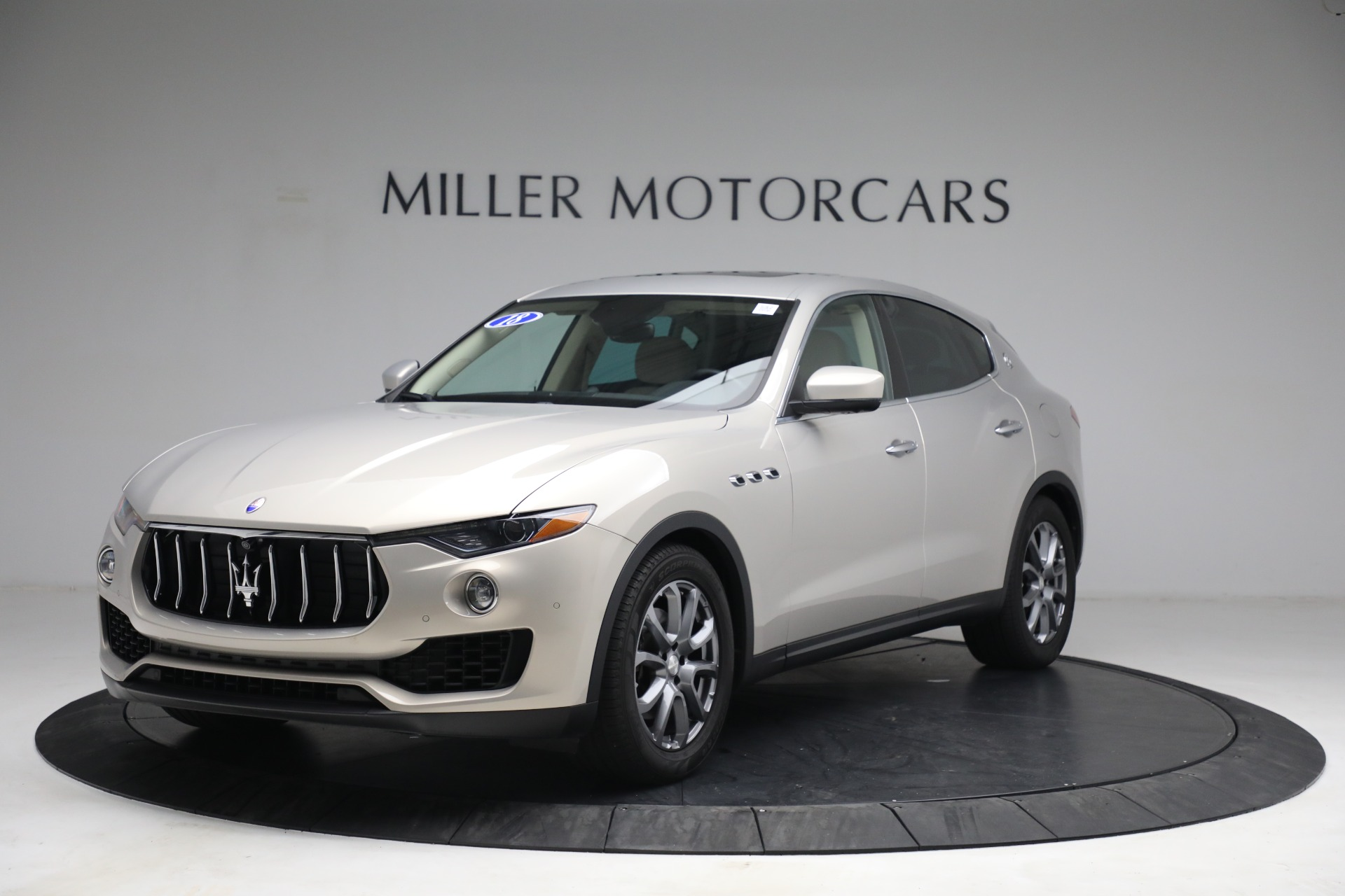 Used 2018 Maserati Levante for sale $57,900 at Bentley Greenwich in Greenwich CT 06830 1