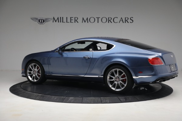 Used 2015 Bentley Continental GT V8 S for sale $119,900 at Bentley Greenwich in Greenwich CT 06830 4