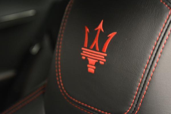 Used 2014 Maserati GranTurismo MC for sale Sold at Bentley Greenwich in Greenwich CT 06830 23