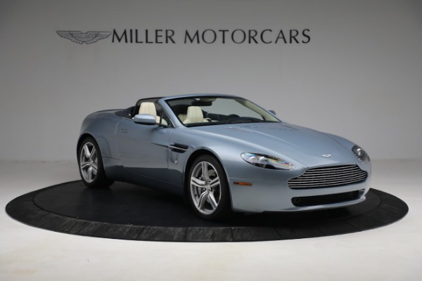 Used 2009 Aston Martin V8 Vantage Roadster for sale Call for price at Bentley Greenwich in Greenwich CT 06830 10