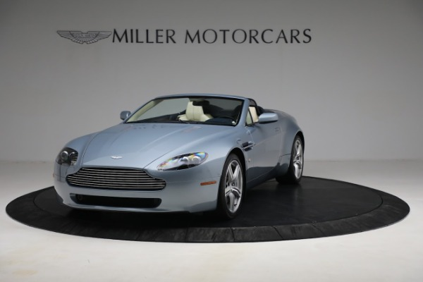 Used 2009 Aston Martin V8 Vantage Roadster for sale Call for price at Bentley Greenwich in Greenwich CT 06830 12