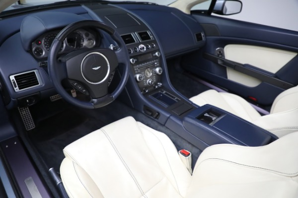 Used 2009 Aston Martin V8 Vantage Roadster for sale Call for price at Bentley Greenwich in Greenwich CT 06830 13