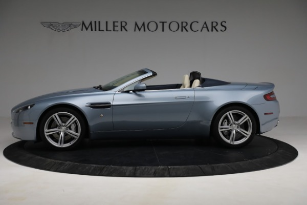 Used 2009 Aston Martin V8 Vantage Roadster for sale Call for price at Bentley Greenwich in Greenwich CT 06830 2