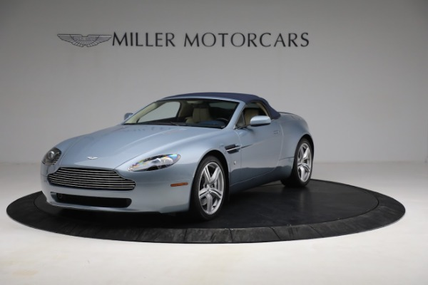 Used 2009 Aston Martin V8 Vantage Roadster for sale Call for price at Bentley Greenwich in Greenwich CT 06830 21