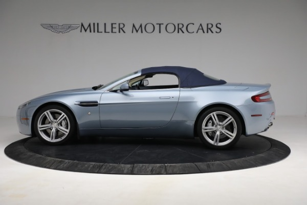 Used 2009 Aston Martin V8 Vantage Roadster for sale Call for price at Bentley Greenwich in Greenwich CT 06830 22