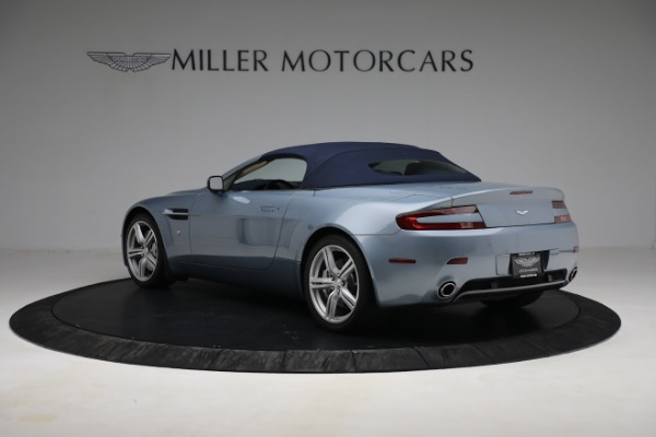 Used 2009 Aston Martin V8 Vantage Roadster for sale Call for price at Bentley Greenwich in Greenwich CT 06830 23