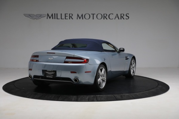 Used 2009 Aston Martin V8 Vantage Roadster for sale Call for price at Bentley Greenwich in Greenwich CT 06830 24