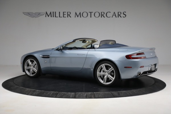 Used 2009 Aston Martin V8 Vantage Roadster for sale Call for price at Bentley Greenwich in Greenwich CT 06830 3