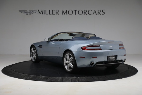 Used 2009 Aston Martin V8 Vantage Roadster for sale Call for price at Bentley Greenwich in Greenwich CT 06830 4