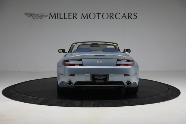 Used 2009 Aston Martin V8 Vantage Roadster for sale Call for price at Bentley Greenwich in Greenwich CT 06830 5