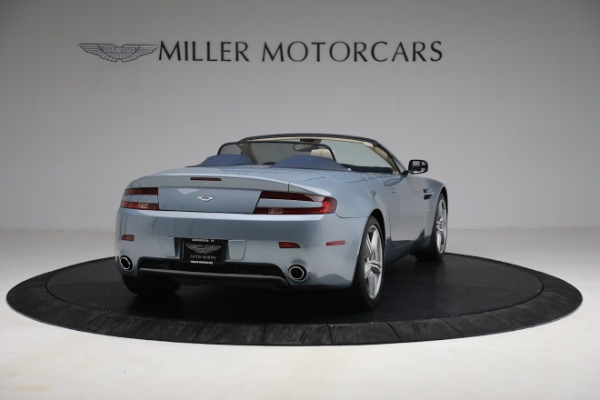 Used 2009 Aston Martin V8 Vantage Roadster for sale Call for price at Bentley Greenwich in Greenwich CT 06830 6