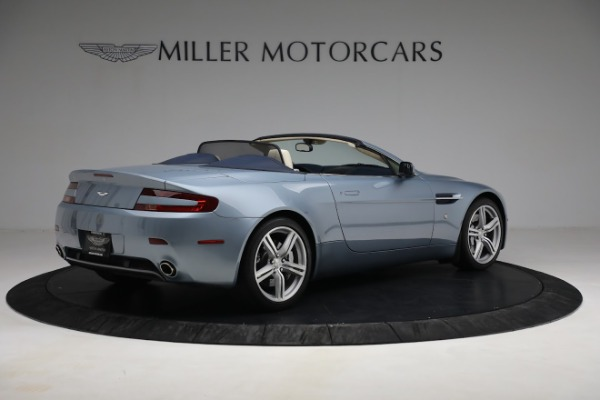 Used 2009 Aston Martin V8 Vantage Roadster for sale Call for price at Bentley Greenwich in Greenwich CT 06830 7