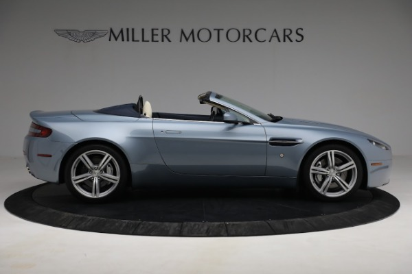 Used 2009 Aston Martin V8 Vantage Roadster for sale Call for price at Bentley Greenwich in Greenwich CT 06830 8