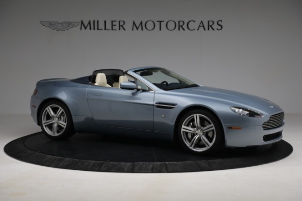 Used 2009 Aston Martin V8 Vantage Roadster for sale Call for price at Bentley Greenwich in Greenwich CT 06830 9