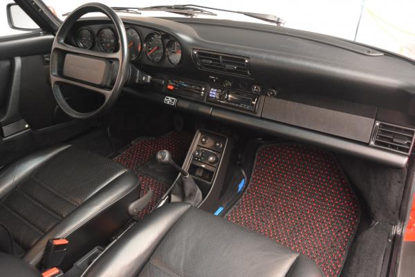 Used 1988 Porsche 911 Carrera for sale Sold at Bentley Greenwich in Greenwich CT 06830 18
