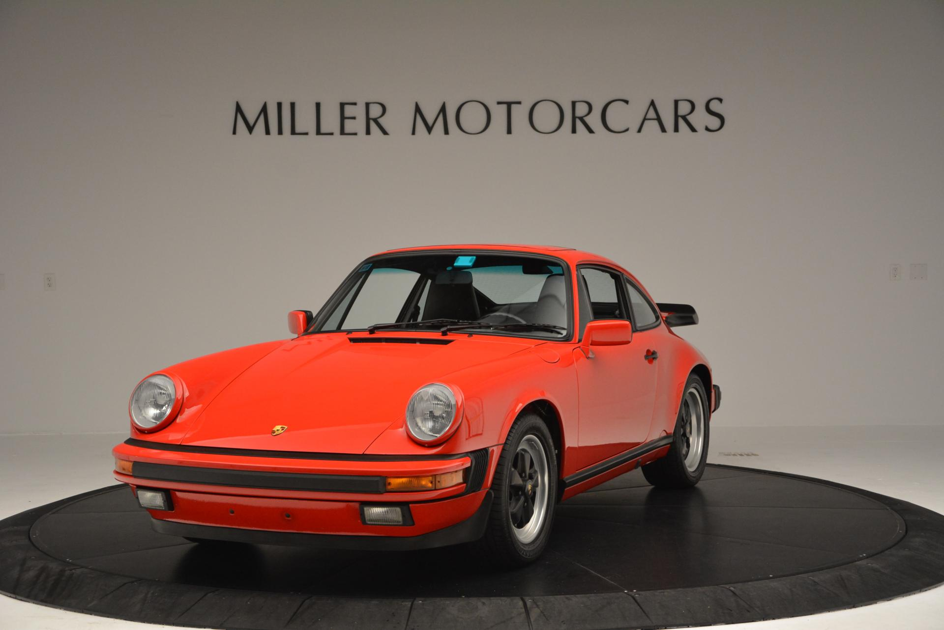 Used 1988 Porsche 911 Carrera for sale Sold at Bentley Greenwich in Greenwich CT 06830 1