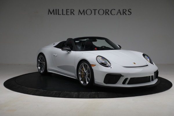Used 2019 Porsche 911 Speedster for sale $395,900 at Bentley Greenwich in Greenwich CT 06830 11
